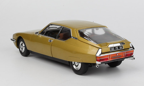 1/18 Norev 1971 Citroen SM (Golden Leaf) Diecast Car Model