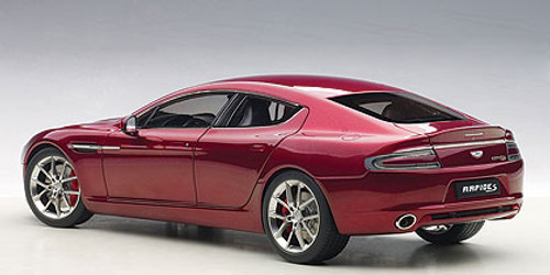 1/18 AUTOart 2015 ASTON MARTIN RAPIDE S(DIAVOLO RED) Diecast Car Model 70257