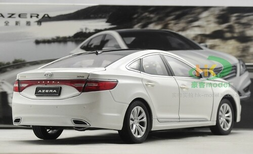 1/18 Dealer Edition Hyundai Azera (White) Diecast Car Model