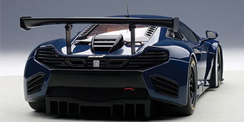 1/18 AUTOart MCLAREN 12C GT3 (AZURE BLUE) Diecast Car Model 81344