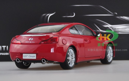 1/18 Dealer Edition Infiniti G37S / Q60 Coupe (Red) Diecast Car Model