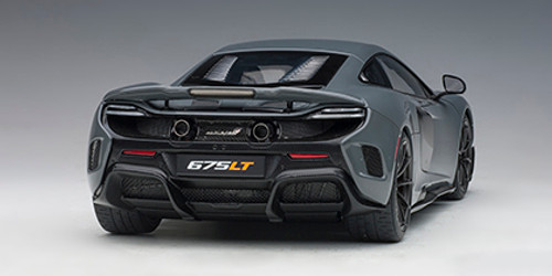 1/18 AUTOart McLAREN 675LT (CHICANE GREY) Diecast Car Model 76047