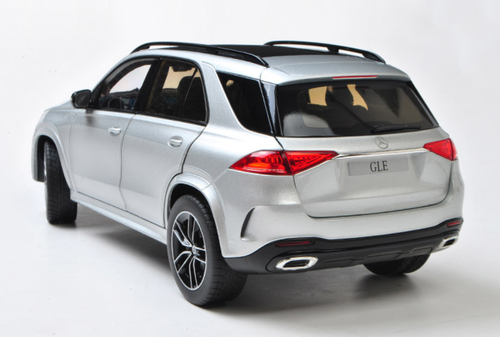1/18 Dealer Edition 2019 Mercedes-Benz Mercedes MB GLE GLE400 GLE500 (Silver) Diecast Car Model