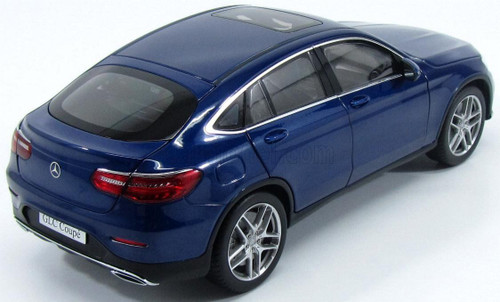 1/18 Dealer Edition Mercedes-Benz Mercedes MB GLC Coupe (Blue) Diecast Car Model