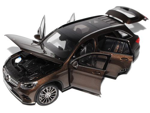 1/18 Norev Mercedes-Benz Mercedes MB GLC (Brown) Diecast Car Model