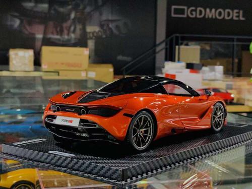 1/18 Tecnomodel McLaren 720S (Orange) Resin Car Model