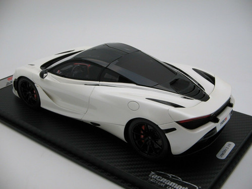 1/18 Tecnomodel McLaren 720S (White) Resin Car Model