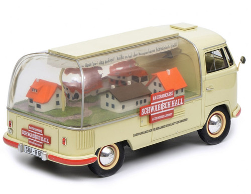 1/18 Schuco Volkswagen VW Bus T1 T1a SCHWABISCH HALL Diecast Car Model