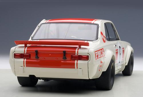 1/18 AUTOart NISSAN SKYLINE GT-R (KPGC-10) RACING 1971 KUNIMITSU TAKAHASHI #6 JAPAN GP WINNER Diecast Car Model