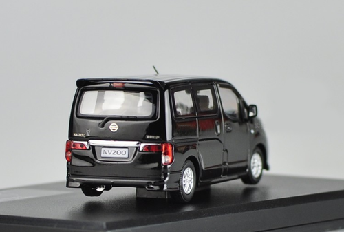 1/43 Dealer Edition Nissan NV200 (Black) Diecast Car Model