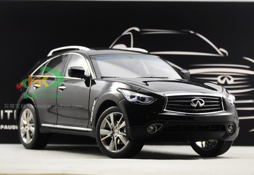 1/18 Dealer Edition INFINITI QX70 / FX50 (BLACK) DIECAST CAR MODEL