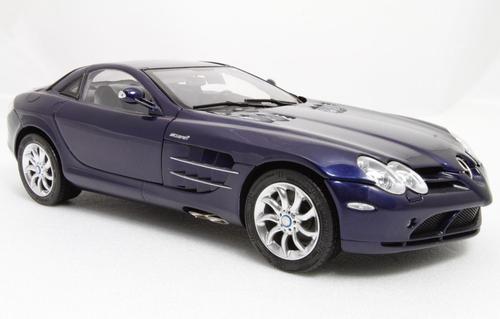 RARE 1/18 CMC Mercedes-Benz Mercedes MB 2003 SLR (Blue) Diecast Car Model