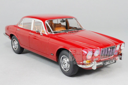 1/18 Paragon 1971 Jaguar XJ6 Series 1 (Red) Diecast Car Model