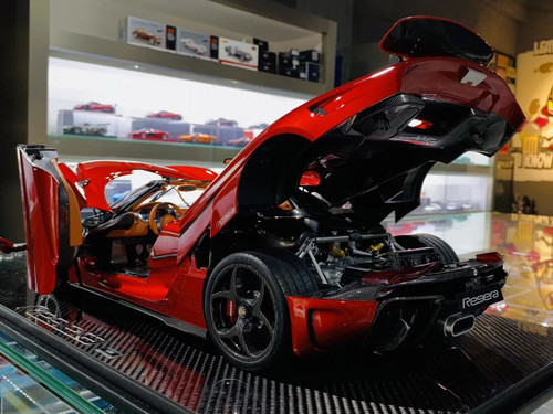 1/8 Frontiart FA Koenigsegg Regera (Red) Serial No.1 Fully Open Car Model w/ Lights
