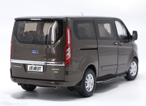 1/18 Dealer Edition Ford Tourneo Titanum (Brown) Diecast Car Model