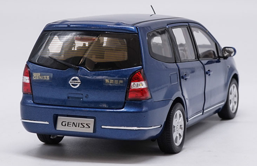 1/18 Dealer Edition Nissan Geniss (Blue) Diecast Car Model