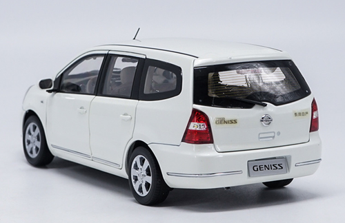 1/18 Dealer Edition Nissan Geniss (White) Diecast Car Model
