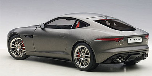 1/18 AUTOart JAGUAR F-TYPE FTYPE 2015 R COUPE (MATT GREY) Diecast Car Model 73654