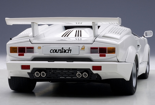 1/18 AUTOart LAMBORGHINI COUNTACH 25th ANNIVERSARY EDITION (WHITE) Diecast Car Model 74537