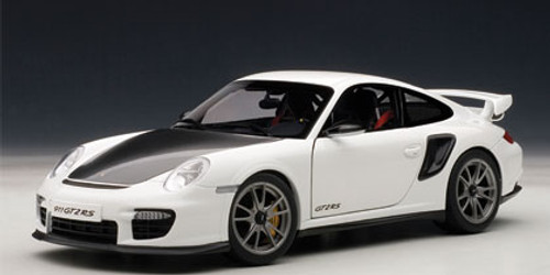 1/18 AUTOart PORSCHE 911(997) GT2 RS (WHITE) Diecast Car Model 77963