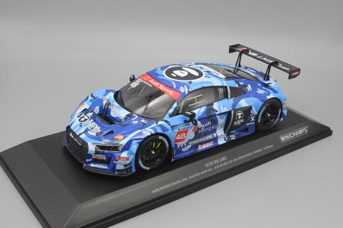 1/18 Minichamps Audi R8 LMS #48 Edoardo Mortara Winner Audi R8 LMS Cup 2016 Sepang Race 2 (Aape / Phoenix Racing Asia) Limited Edition to 300 pieces Worldwide Diecast Car Model