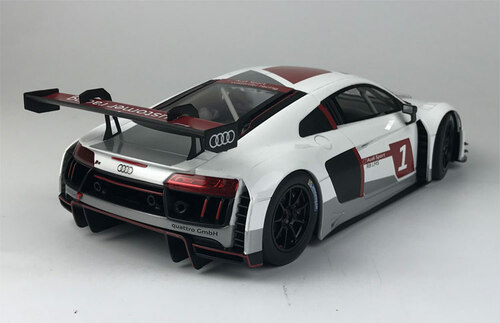 "1/18 Paragon Audi Sport R8 LMS #1 ""Presentation Car"" Diecast Car Model"