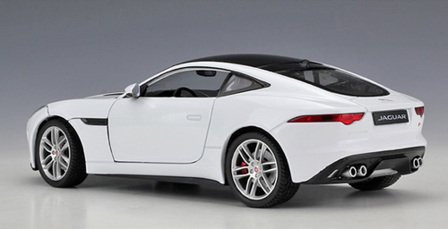 1/24 Welly FX Jaguar F-Type FType Coupe (White) Diecast Car Model