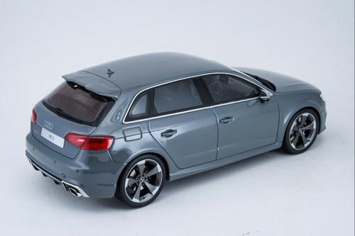 1/18 GT Spirit GTSpirit Audi RS3 Sportback (Grey) Resin Car Model