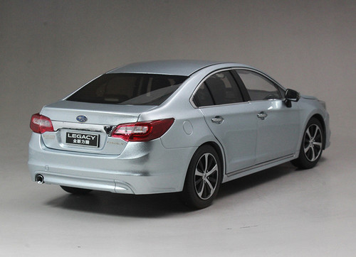 1/18 Dealer Edition All New Subaru Legacy (Silver Blue) Diecast Car Model