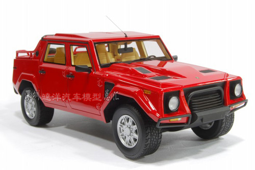 1/18 Handmade Resin Lamborghini LM002 (Red)