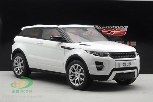 1/18 GTAutos Range Rover Evoque (White) Diecast Car Model