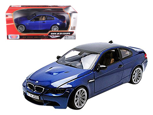 BMW M3 Coupe E92 Metal Diecast Model Car 1:18 Scale Boy Gifts White