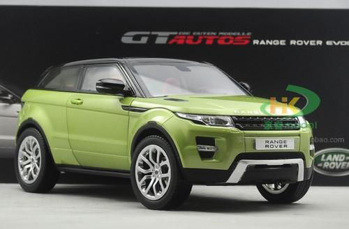 1/18 GTAutos Range Rover Evoque (Green) Diecast Car Model