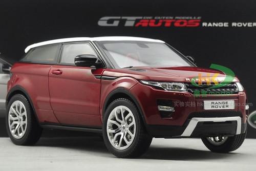 1/18 GTAutos Range Rover Evoque (Wine Red) Diecast Car Model