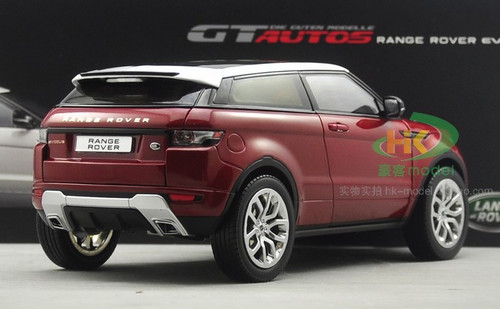 1/18 Range Rover Evoque (Wine Red)