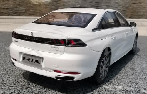 1/18 Dealer Edition 2019 Peugeot 508 508L (White) Diecast Car Model