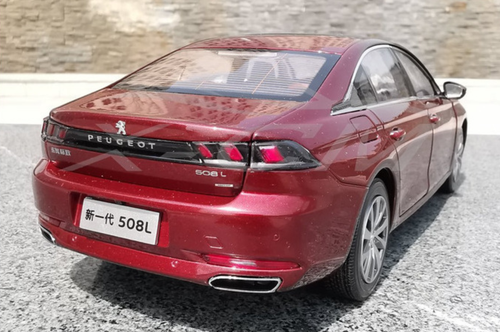 1/18 Dealer Edition 2019 Peugeot 508 508L (Red) Diecast Car Model
