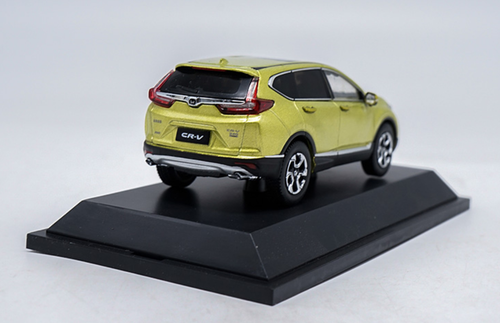 1/43 Dealer Edition Honda CRV CR-V (Yellow / Gold) Diecast Car Model