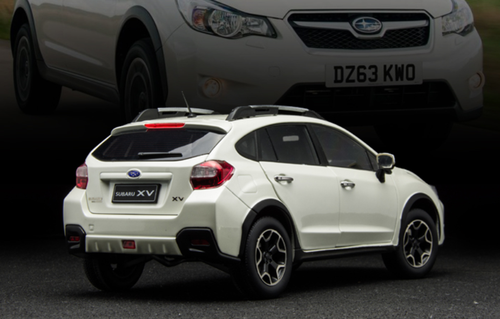 1/18 Sunstar Subaru XV Crosstrek (White) Diecast Car Model