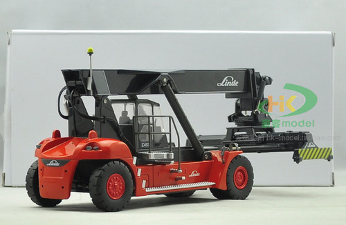 1/50 LINDE REACH STACKER (Red) Diecast Car Model