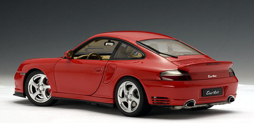 1/18 AUTOart Porsche 911 Turbo 996 (Red) Diecast Car Model 77831