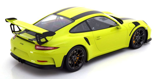 1/18 Minichamps 911 991 GT3 RS (Yellow) Diecast Car Model
