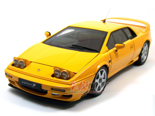 1/18 AUTOart Lotus Esprit V8 (Yellow) Diecast Car Model