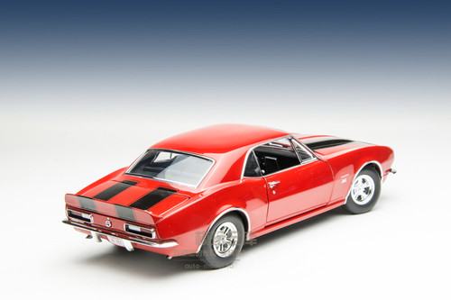 1/18 ACME Dealer Exclusive 1967 Camaro 427 (Red) Diecast Car Model