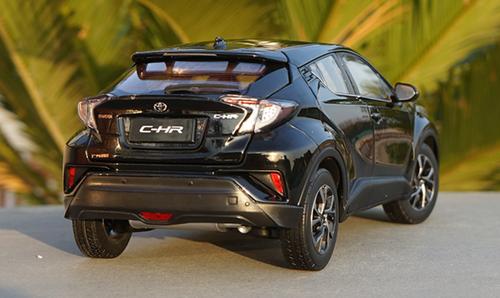1/18 Dealer Edition Toyota C-HR CHR IZOA (Black) Diecast Model