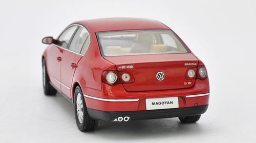 1/18 Dealer Edition B6 and B7 (Typ 3C; 2005–2015) Volkswagen VW Passat / Magotan (Red) Diecast Car Model