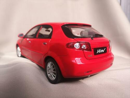 1/18 Dealer Edition 2007 Buick HRV HR-V (Red) Diecast Car Model