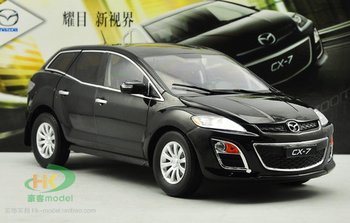 1/18 Dealer Edition Mazda CX-7 CX7 (Black) Diecast Car Model