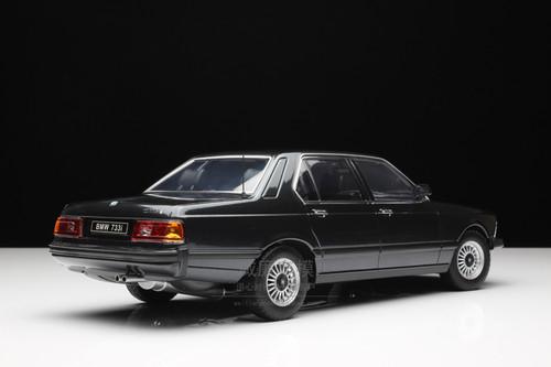 1/18 KK-Scale BMW E23 7 Series 733i (Black) Diecast Car Model