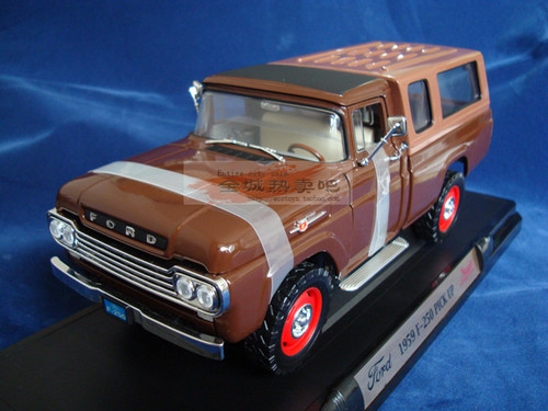 1/18 Yatming 1959 Ford F-250 Pickup Truck  Diecast Car Model